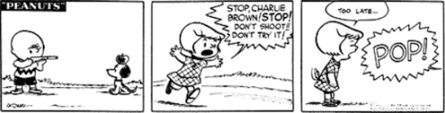 darrylayo:  3eanuts:  March 7, 1952 — see The Complete Peanuts 1950-1954  !!!