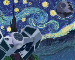 Favorite Painting+StarWars=AWESOME.