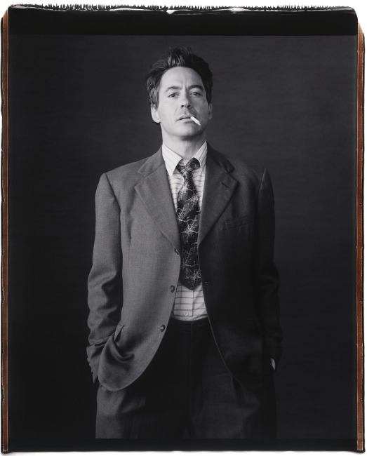 Robert Downey Jr photographed by Mary Ellen Mark