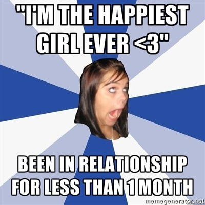 "meme-spot:  ""Annoying Facebook Girl"" http://oh-its-that-one-guy.tumblr.com/ http://meme-spot.com/  hmmmmm."