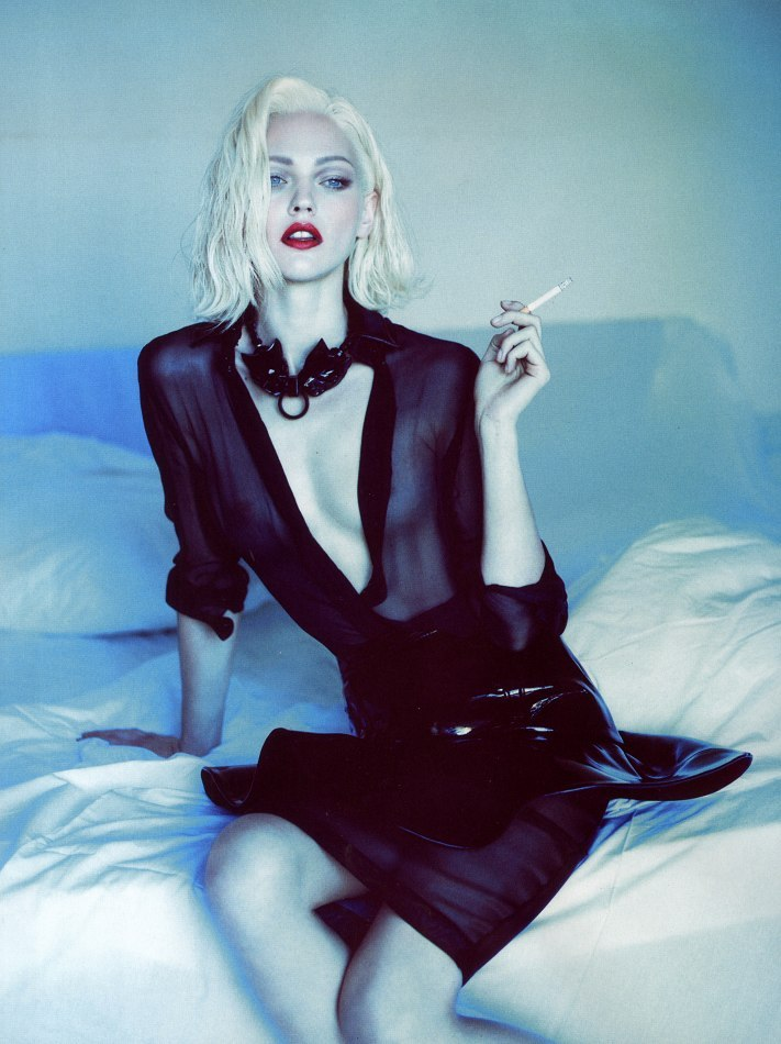pussylequeer:  Sasha Pivovarova - Vogue Paris by Mert & Marcus, October 2011