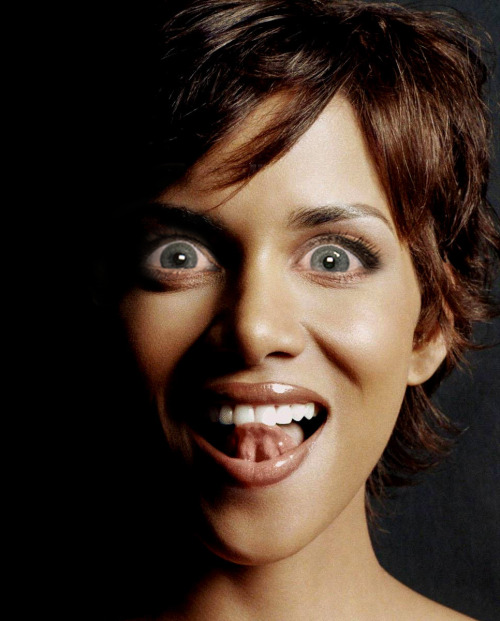 Halle Berry with Michele Bachmann eyes.