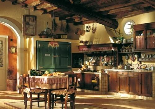 | ♕ | French Country Kitchen | via karake1989 | rachellgmh