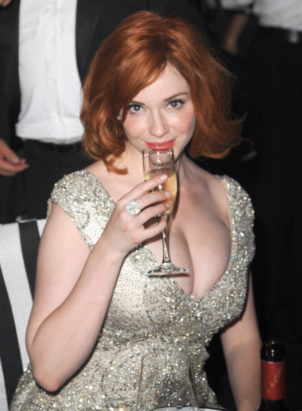 suicideblonde:  Christina Hendricks at the 2011 Emmys Governor's Ball tonight