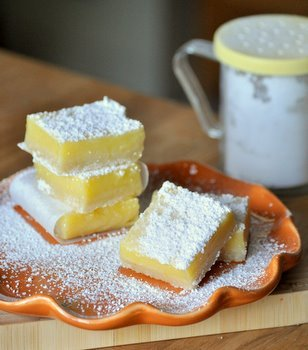 This is a Perfect Lemon Bar recipe for lemon lovers. It has a filling that is nice and thick, a great lemon flavor and a beautiful silky texture. Enjoy!  Recipe link below photo