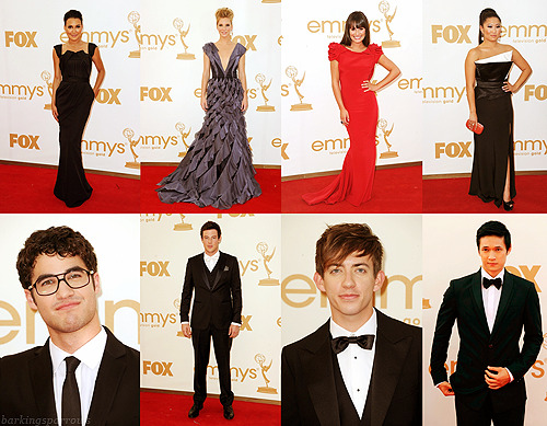 2011 Emmy Awards - Glee Cast