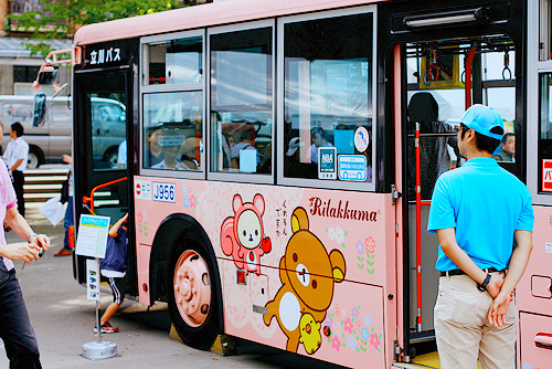 Rilakkuma Bus (4) by drkigawa on Flickr.