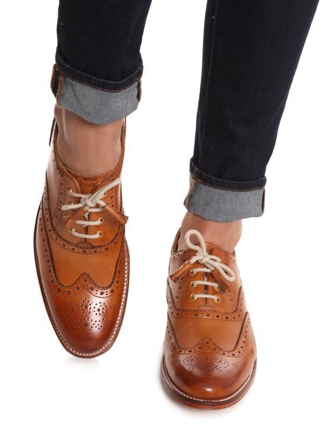 "lexusbest:  Grenson -  ""Martha"" Brogues from Matches Fashion, womens shoes"