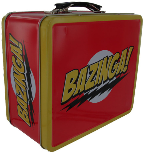 Bazinga Lunch Box Buy one here.