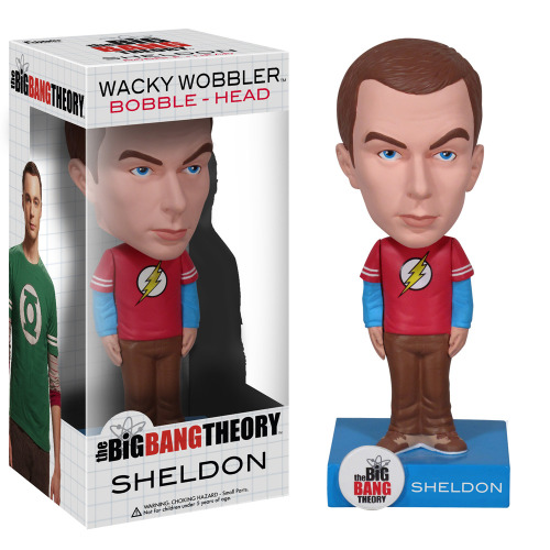 Sheldon Bobblehead Buy one here.