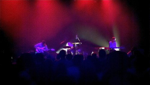 James Blake at the Music Box in Hollywood earlier tonight (Sept. 18 2011)