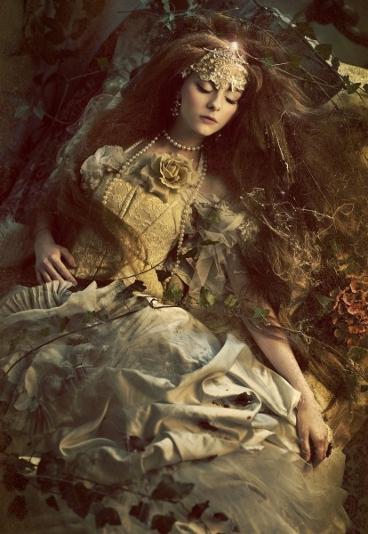 anachronisticfairytales:  Sleeping Beauty Widmanska