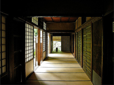 "Koto In 02 (by The Real Marxz) ""One of the many sub temple buildings in the Daitokuji complex.This building houses probably one of the most famous tea rooms in Japan."""