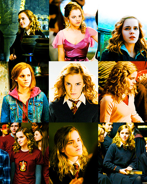 "sweetlittlerevenge:  ""Underneath Hermione Granger's swottiness, there is a lot of insecurity and a great fear of failure."" - J.K. Rowling.  Happy Birthday, Hermione!"