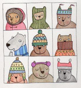 Love this (via Dip pen | Holly Swain Illustration)
