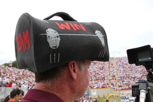 Lunch Pail Defense head gear, coming soon to Campus Emporium!