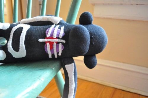 "cardiac-art:  ""Anatomical Sock Monkey"" by SewMuchRock"