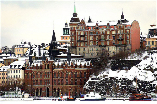 flipsideofamemory:  Södermalm Stockholm Sweden 1/3 2006 (by photoola)  So, SO gorgeous.