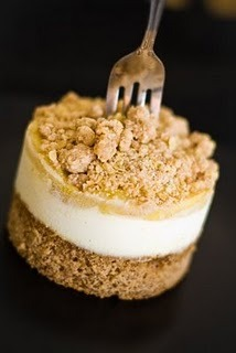 bakeddd:  apple crumble cheesecake click here for recipe