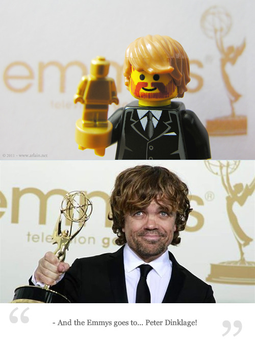 And the Emmys goes to… Peter Dinklage! Arlain in Flickr