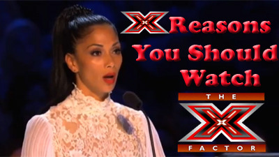 """You know you want to watch The X Factor just to see who the winner is.   Especially since the winner will be crowned just before Christmas.   You'll want to be in on the conversation while everyone opens their  stockings.  Otherwise, you'll be relegated to the corner with the  fruitcake, all because you failed to watch The X Factor finale.  See.   You have to watch now.  Don't watch?  Fruitcake.  Do watch?  Amazing  Christmas.  Seems like the decision is simple enough for me. """