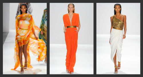 Carlos Miele Spring/Summer 2012. Perpetual Sunshine. (view in high resolution)