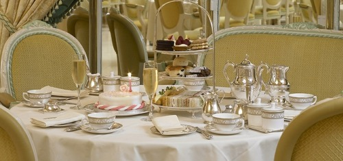 How chic/gorgeous is this? Surprise bridal shower tea party at the Ritz is officially in the works! :)