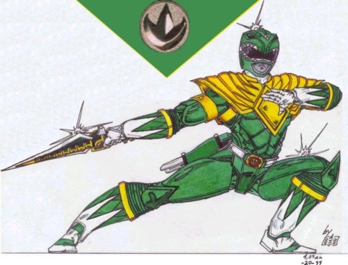 maythepowerprotectyoualways:  Green Ranger fan art!
