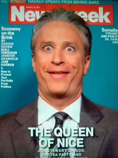 funnyordie:  Jon Stewart's Michele Bachmann Face Nailed it.