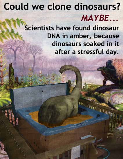 Could We Clone Dinosaurs?