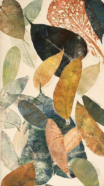 kajali:  Autumn Leaf II by Mariann Johansen Ellis
