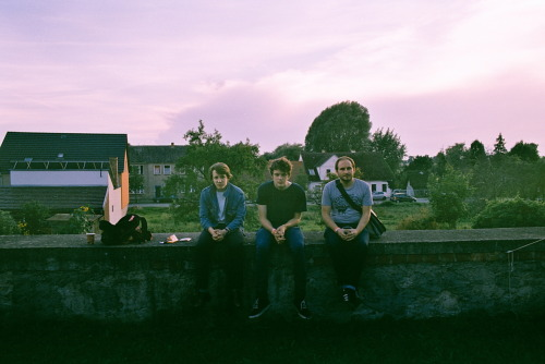 Friedland, Germany - August 2011 - Sam, Giles, Jorg (Humming Records)