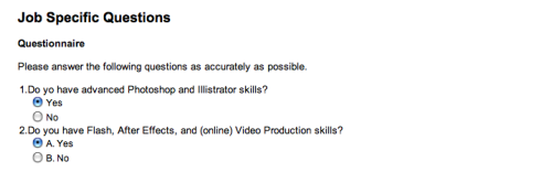 """Always proofread your cover letter and résumé,"" they say. Well, they should always proofread their online job applications."