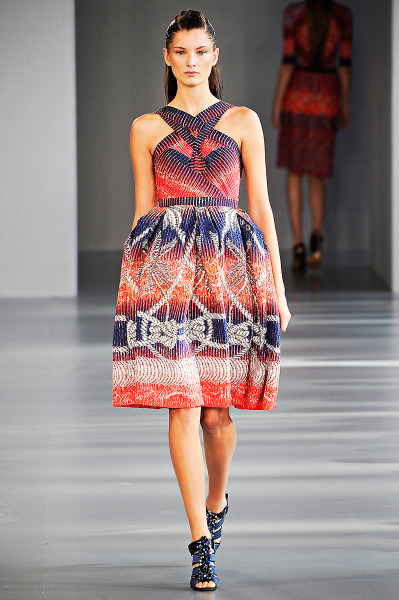 vogue:  Peter Pilotto Spring 2012 Photo: Marcio Madeira/firstVIEWVisit Vogue.com for the collection and review.