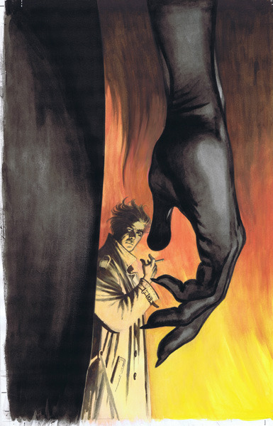 cadencecomicart:  Hellblazer: The Devil You Know #2 Cover by David Lloyd   .