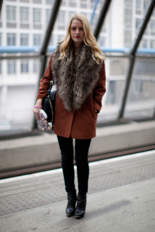Faux fur chic
