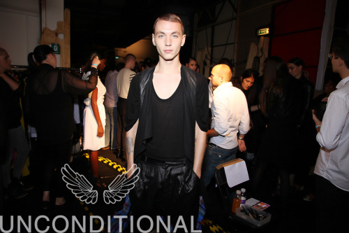 Yuri Pleskun at the Unconditional SS 12 Show