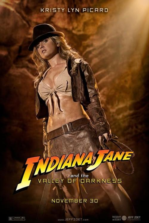 captainsblog1701:  Indiana Jane by Jeff Zoet