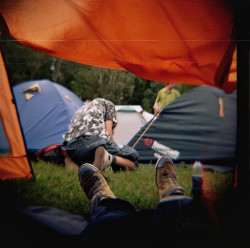 View from tent by A Silent Republic on Flickr.