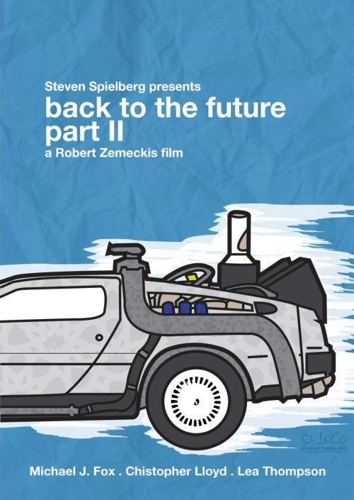 ellocoart:  Back To The Future Part II