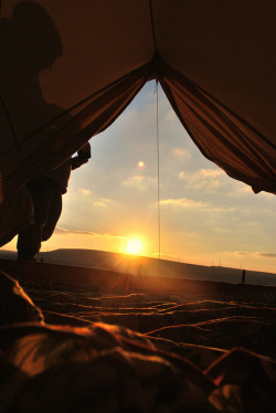 View from the tent by -Bequa- on Flickr.