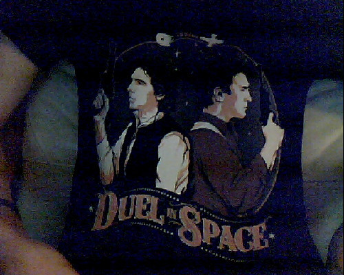 LOOK AT MY NEW SHIRT YOU GUYS IT'S THE BEST SHIRT