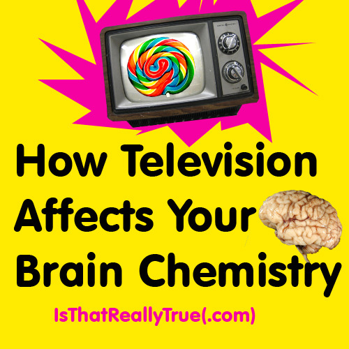 YouTube: How Television Affects Your Brain Chemistry Brain Health and Puzzles: Television and Brain Function Erupting Mind: Effects of TV on the Brain Cracked: 6 Shocking Ways TV Rewires Your Brain; Sam Cooper Turn Off Your TV: Kill Your Television