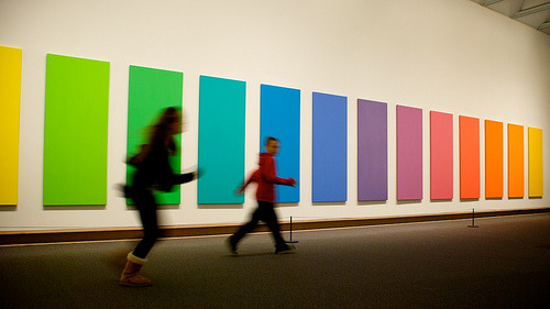 Ellsworth Kelly - Spectrum V1969@ Met NY