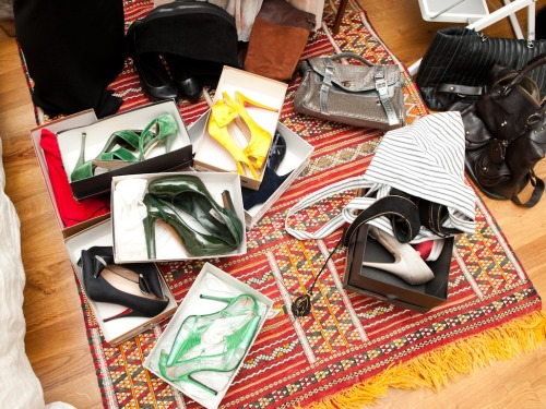 A little accessories eye candy from The Coveteur's profile on Glamour Executive Online Editor (Tumblr contrib extraordinaire) Susan Cernek. More snaps this way! Photo: Courtesy of The Coveteur