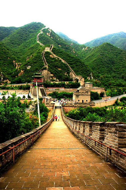 Great Wall China by indoblitz on Flickr.