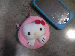 Hello Kitty Coin Purse Phone Charm $4+ shipping