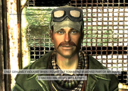 mygamingconfessions:  - IMAGE CONTAINS FALLOUT 3, POINT LOOKOUT SPOILER -