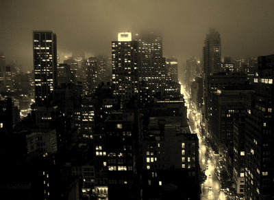 curitas:  Misty NYC - Gotham City I (by … Arjun)