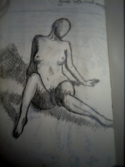 Figure 14 This one just happened on a backpage of my Moleskine. More of a sketch really, which I am going to count, because I make the rules.